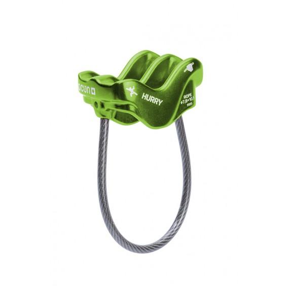 Ocun Hurry ultraleichtes Sicherungsgerät Abseilgerät grün hier im Ocun-Shop günstig online bestellen