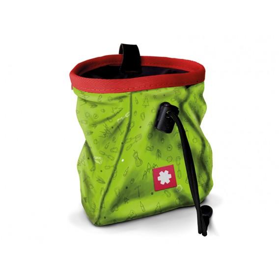Ocun Lucky + Belt Chalkbag Beutel für Kletterkreide icons green im ARTS-Outdoors Ocun-Online-Shop günstig bestellen