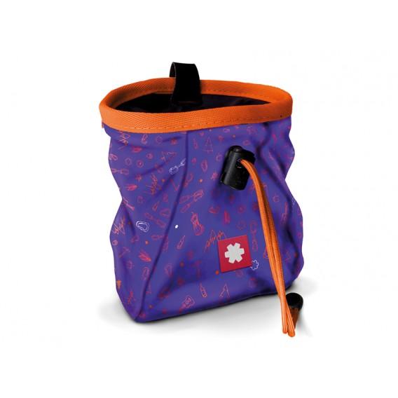 Ocun Lucky + Belt Chalkbag Beutel für Kletterkreide icons violet hier im Ocun-Shop günstig online bestellen