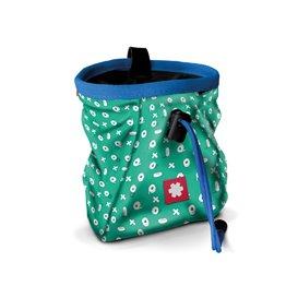 Ocun Lucky + Belt Chalkbag Beutel für Kletterkreide tape-blue