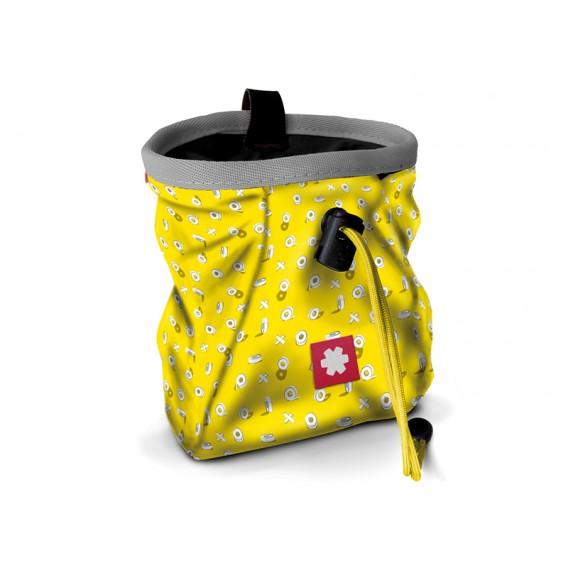 Ocun Lucky + Belt Chalkbag Beutel für Kletterkreide tape-yellow im ARTS-Outdoors Ocun-Online-Shop günstig bestellen