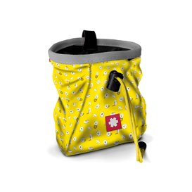 Ocun Lucky + Belt Chalkbag Beutel für Kletterkreide tape-yellow