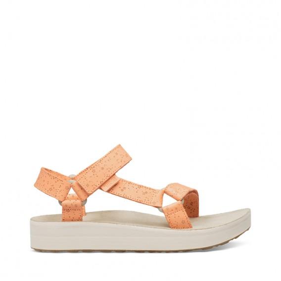 Teva Midform Universal Star Damen Leder Sandale Freizeitsandale cantaloupe hier im Teva-Shop günstig online bestellen
