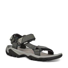 Teva Terra Fi 5 Universal Herren Leder Sandale Wassersportsandale grau
