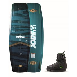 Jobe Pitch Wakeboard 144 & Nitro Bindung Schwarz Set
