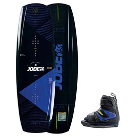 Jobe Vanity Wakeboard 136 & Host Bindung blau Set