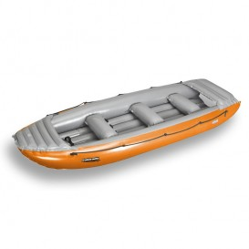 Gumotex Colorado 450 Rafting Boot Wildwasser Schlauchboot AUSSTELLUNGSBOOT orange