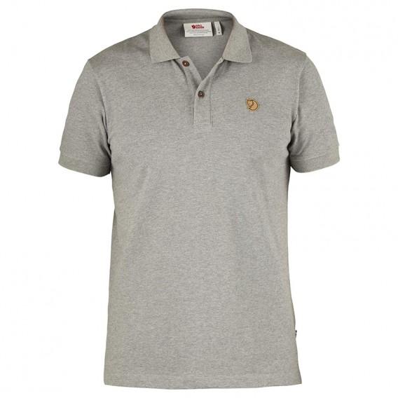 Fjällräven Övik Polo Shirt Herren Freizeit und Outdoor Kurzarm Shirt grey hier im Fjällräven-Shop günstig online bestellen