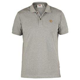 Fjällräven Övik Polo Shirt Herren Freizeit und Outdoor Kurzarm Shirt grey
