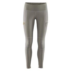 Fjällräven Abisko Trail Tights Damen Outdoor Leggings Trekkinghose grey hier im Fjällräven-Shop günstig online bestellen