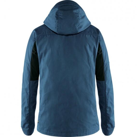 Fjällräven Kaipak Jacket Herren Übergangsjacke uncle blue-dark grey hier im Fjällräven-Shop günstig online bestellen