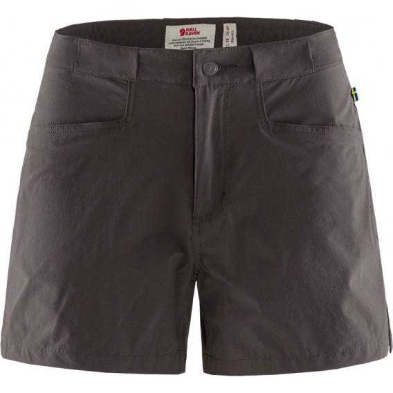 Fjällräven High Coast Lite Shorts Damen kurze Wanderhose Trekkinghose dark grey hier im Fjällräven-Shop günstig online bestellen