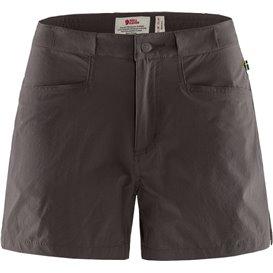 Fjällräven High Coast Lite Shorts Damen kurze Wanderhose Trekkinghose dark grey