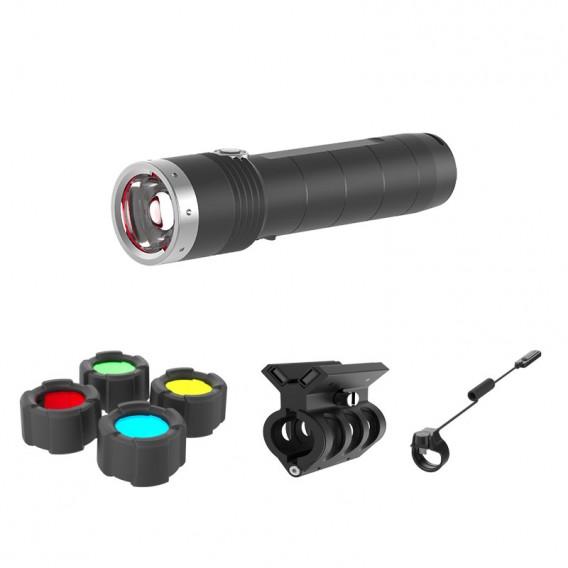 Ledlenser MT10 Taschenlampen Set Stablampe 1000 Lumen mit Zubehör hier im Ledlenser-Shop günstig online bestellen