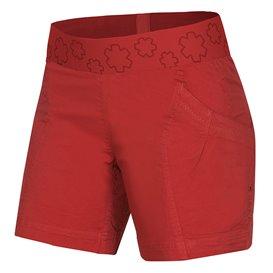 Ocun Pantera Shorts Damen Kurze Kletter Shorts Sporthose chili-oil