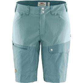 Fjällräven Abisko Midsummer Shorts Damen kurze Wanderhose Trekkinghose mineral blue-clay blue