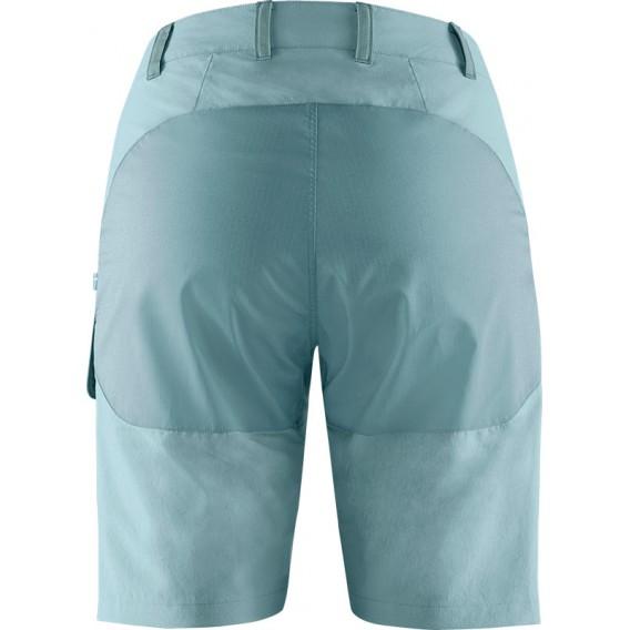 Fjällräven Abisko Midsummer Shorts Damen kurze Wanderhose Trekkinghose mineral blue-clay blue hier im Fjällräven-Shop günstig on