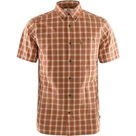 Fjällräven Övik Shirt Shortsleeve Herren Freizeit und Outdoor Kurzarm Hemd light olive