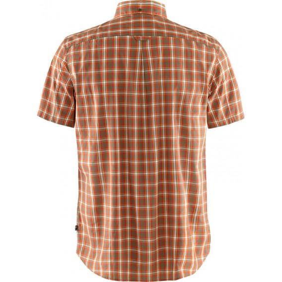 Fjällräven Övik Shirt Shortsleeve Herren Freizeit und Outdoor Kurzarm Hemd light olive hier im Fjällräven-Shop günstig online be