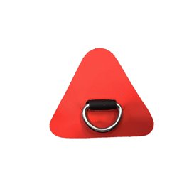 Aqua Marina D-Ring mit Beschlag rot