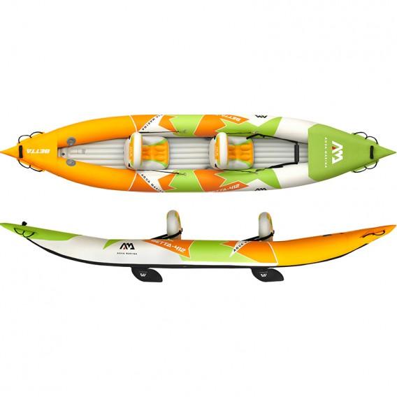 Aqua Marina Betta Leisure 412 2er Kajak Schlauchboot im ARTS-Outdoors Aqua Marina-Online-Shop günstig bestellen