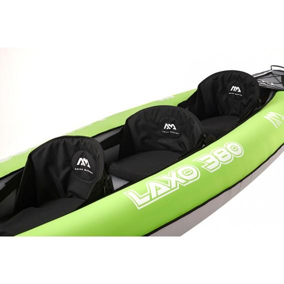Aqua Marina Laxo 380 3er Kajak Schlauchboot Set mit Paddel und Pumpe im ARTS-Outdoors Aqua Marina-Online-Shop günstig bestellen