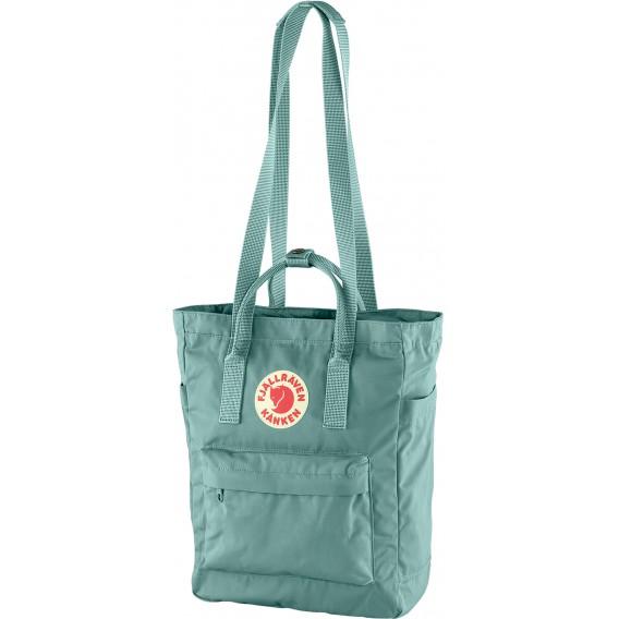 Fjällräven Kånken Totepack Rucksack Umhängetasche Schultertasche frost green hier im Fjällräven-Shop günstig online bestellen