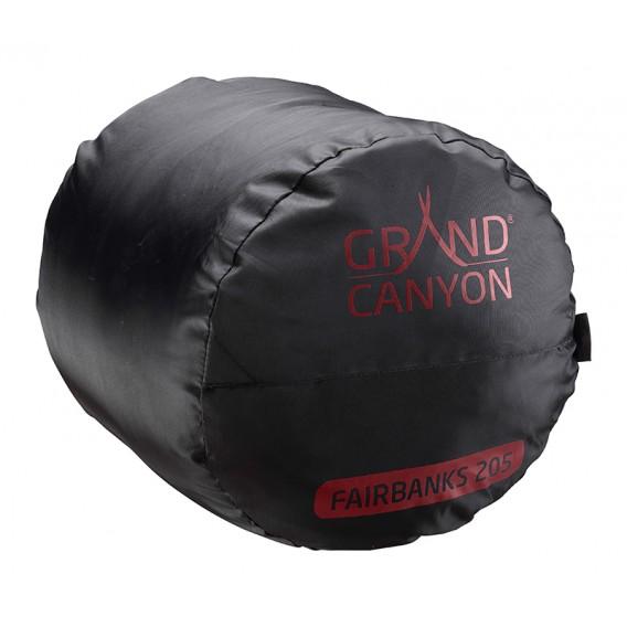 Grand Canyon Fairbanks 205 Kunstfaser Mumienschlafsack rot hier im Grand Canyon-Shop günstig online bestellen