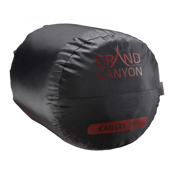 Grand Canyon Kansas 190 Kunstfaser Mumienschlafsack rot hier im Grand Canyon-Shop günstig online bestellen