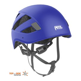 Petzl Boreo Kletterhelm Kopfschutz zum Bergsteigen blau