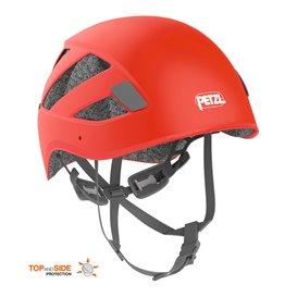 Petzl Boreo Kletterhelm Kopfschutz zum Bergsteigen rot