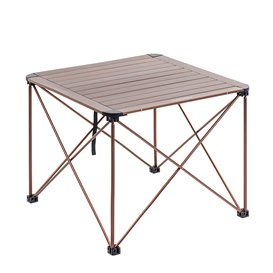 Naturehike Foldable Table Campingtisch Falttisch M champagne