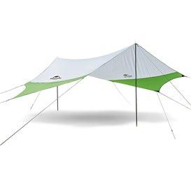 Naturehike Sunrise 24 PU Wetterschutz Tarp Camping Sonnensegel green-grey
