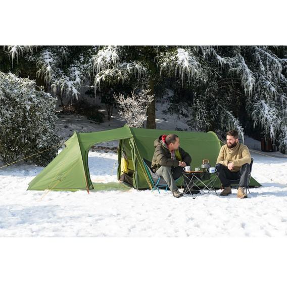 Naturehike Opalus 3 SI Tunnelzelt 3 Personen Zelt green hier im Naturehike-Shop günstig online bestellen