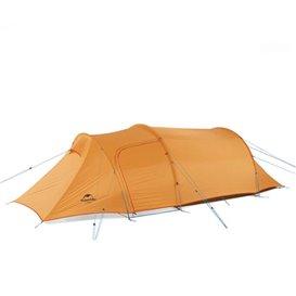 Naturehike Opalus 3 PU Tunnelzelt 3 Personen Zelt orange