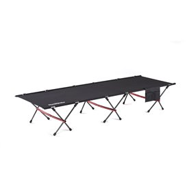 Naturehike Folding Bed faltbares Feldbett Campingbett black