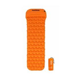 Naturehike ultraleicht Luftmatratze mit Pumpfunktion Isomatte orange hier im Naturehike-Shop günstig online bestellen
