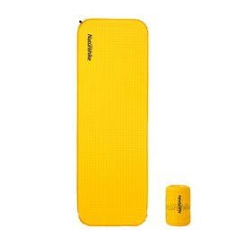 Naturehike Squared selbstaufblasende Isomatte gelb