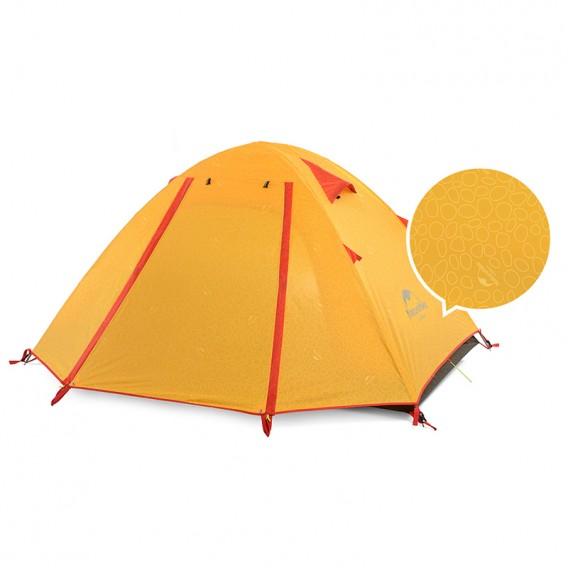 Naturehike P-Series Knurling PU Tent Zelt 3 Personen Igluzelt orange hier im Naturehike-Shop günstig online bestellen