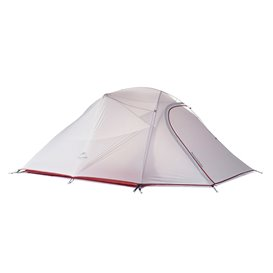 Naturehike Cloud Up 3 SI Updated Zelt 3 Personen Kuppelzelt grey-red hier im Naturehike-Shop günstig online bestellen