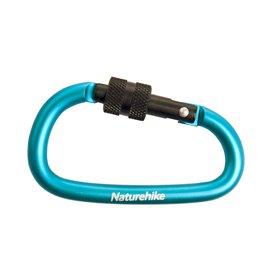 Naturehike Schlüsselanhänger Karabiner mit Verschluss blue