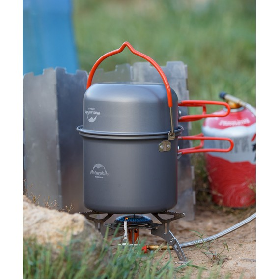 Naturehike 4-teiliges Camping Kochset Updated aus Aluminium hier im Naturehike-Shop günstig online bestellen