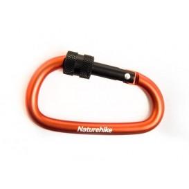 Naturehike Karabiner Schlüsselanhänger mit Verschluss orange