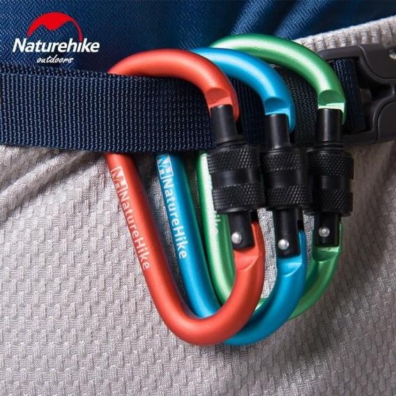 Naturehike Karabiner Schlüsselanhänger mit Verschluss orange hier im Naturehike-Shop günstig online bestellen