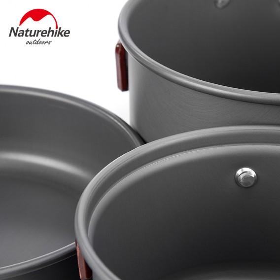 Naturehike 4-teiliges Camping Kochset aus Aluminium hier im Naturehike-Shop günstig online bestellen