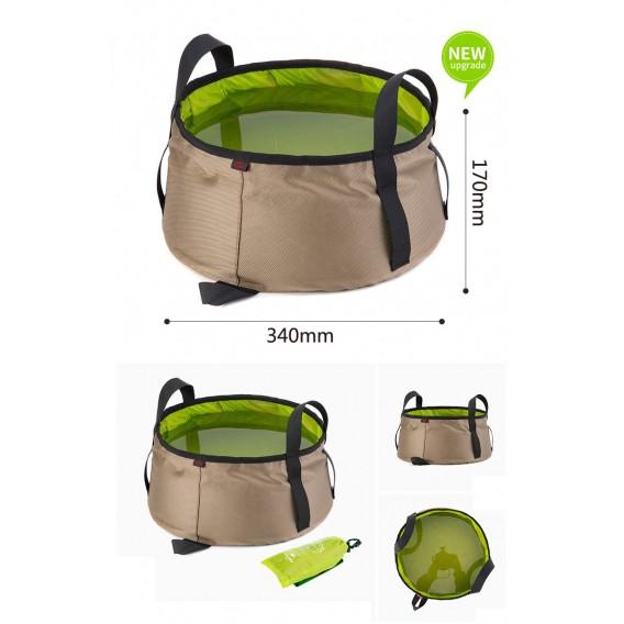 Naturehike Folding Washbasin 10L faltbarer Wasserbehälter Waschbecken green hier im Naturehike-Shop günstig online bestellen