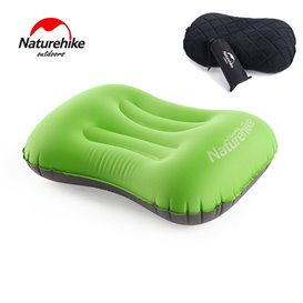 Naturehike Pillow aufblasbares Reisekissen Kopfkissen green