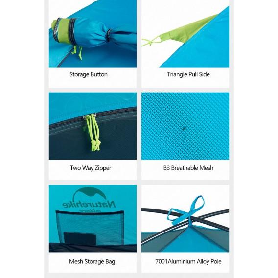 Naturehike P-Series Knurling PU Tent Zelt 2 Personen Igluzelt green hier im Naturehike-Shop günstig online bestellen