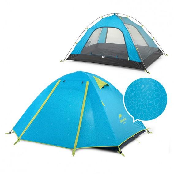 Naturehike P-Series Knurling PU Tent Zelt 4 Personen Igluzelt sea blue hier im Naturehike-Shop günstig online bestellen