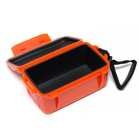 ExtaSea Trockenbox wasserdichte Transportbox mit Schaumstoff orange